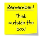 11267159-a-yellow-square-sticky-note-wtih-the-words-and-concept-remember-to-think-outside-the-box