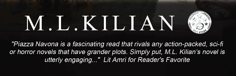 Giveaway Announced for Indie AuthorM.L.Kilian