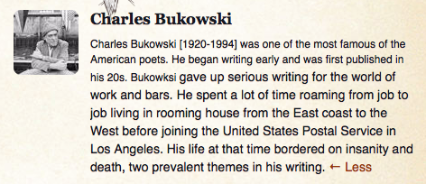 charles bokowski